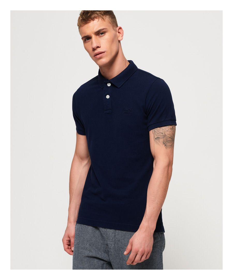 Image for Superdry Vintage Destroyed Polo Shirt