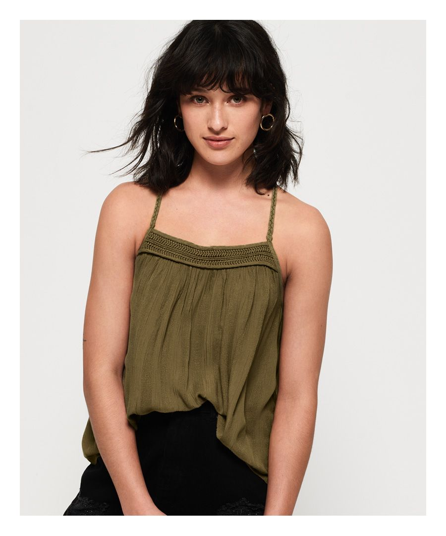 Image for Superdry Klara Braided Cami