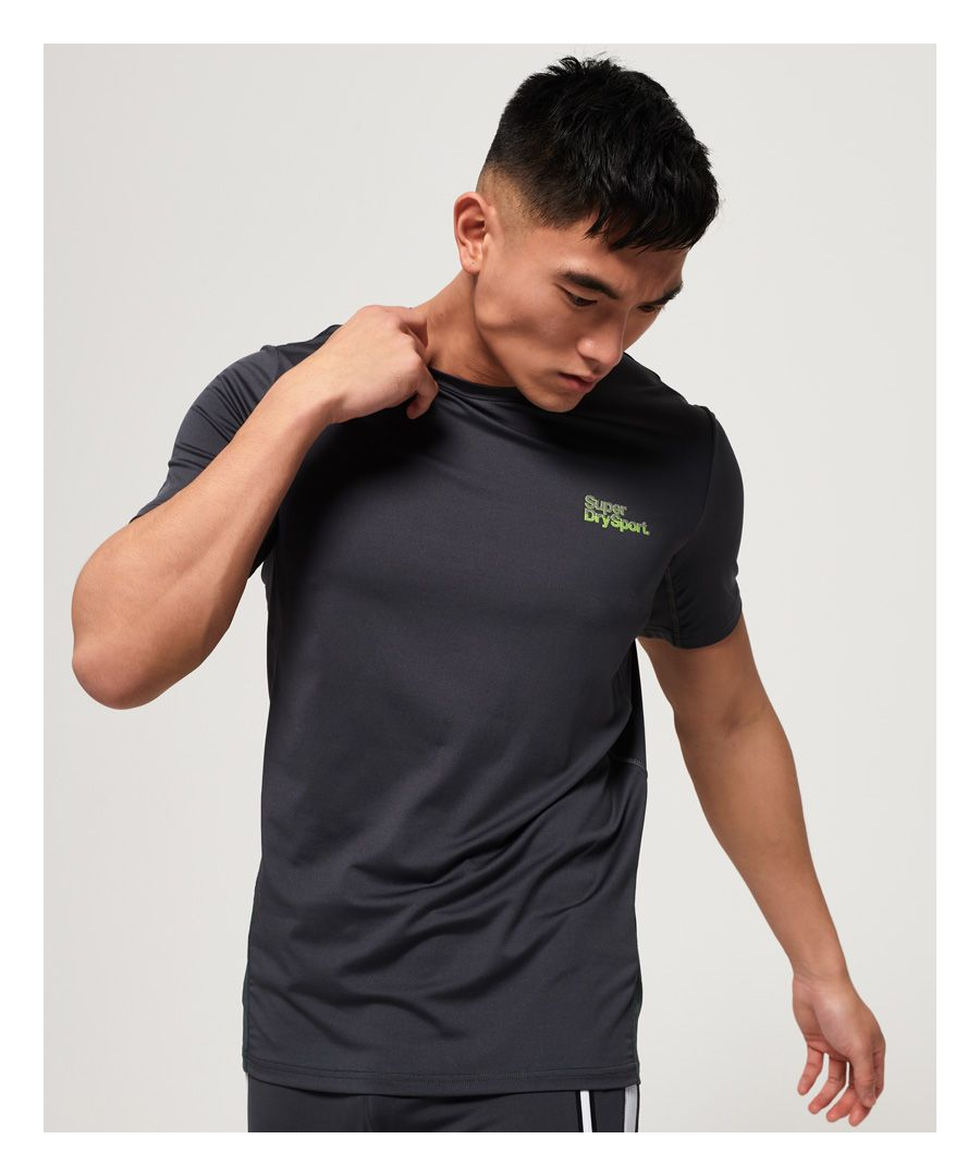 Image for Superdry Active Camo Jacquard T-Shirt