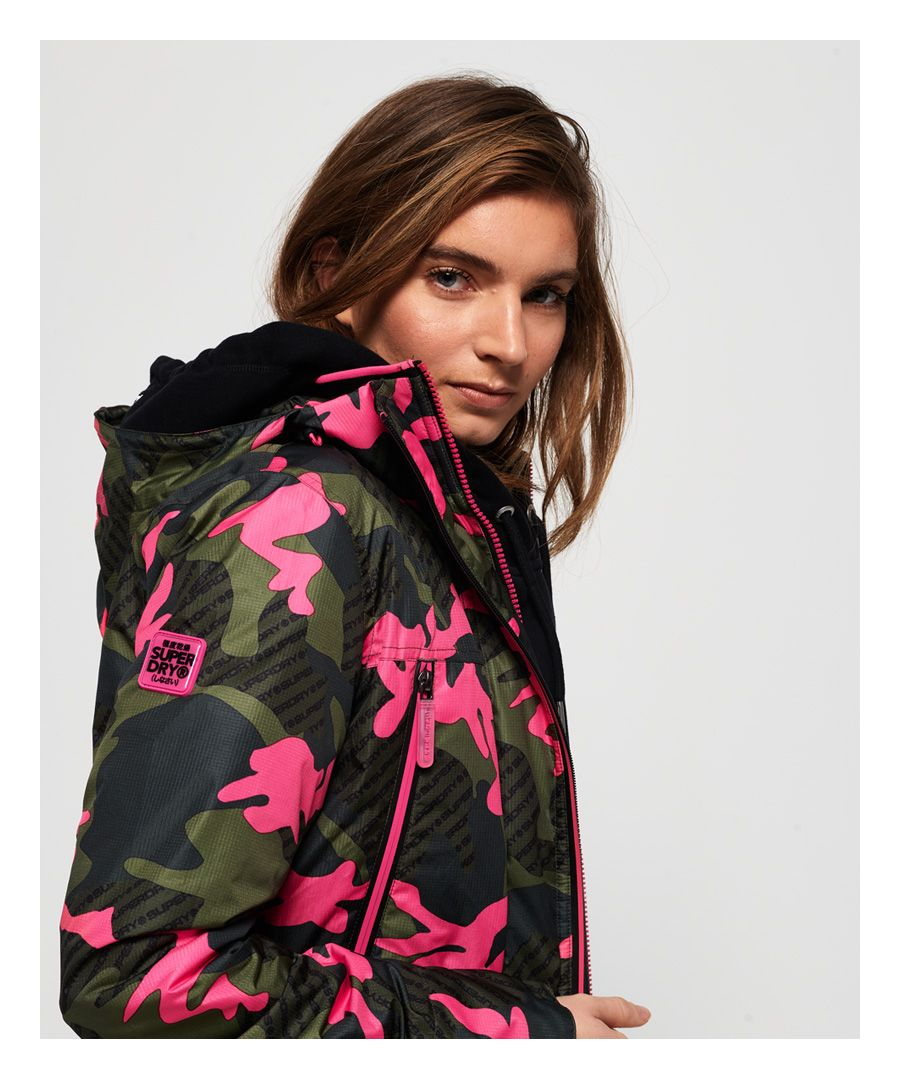 Image for Superdry Tech Print Velocity SD-Windcheater