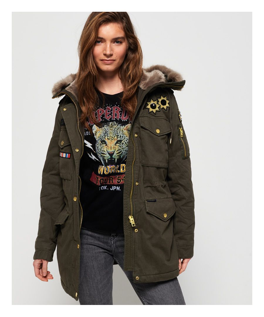 Image for Superdry Rookie Rock Royalty Parka Jacket