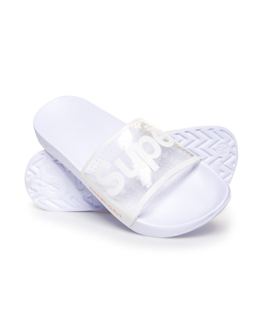 Image for Superdry Perforated Jelly Pool Sliders