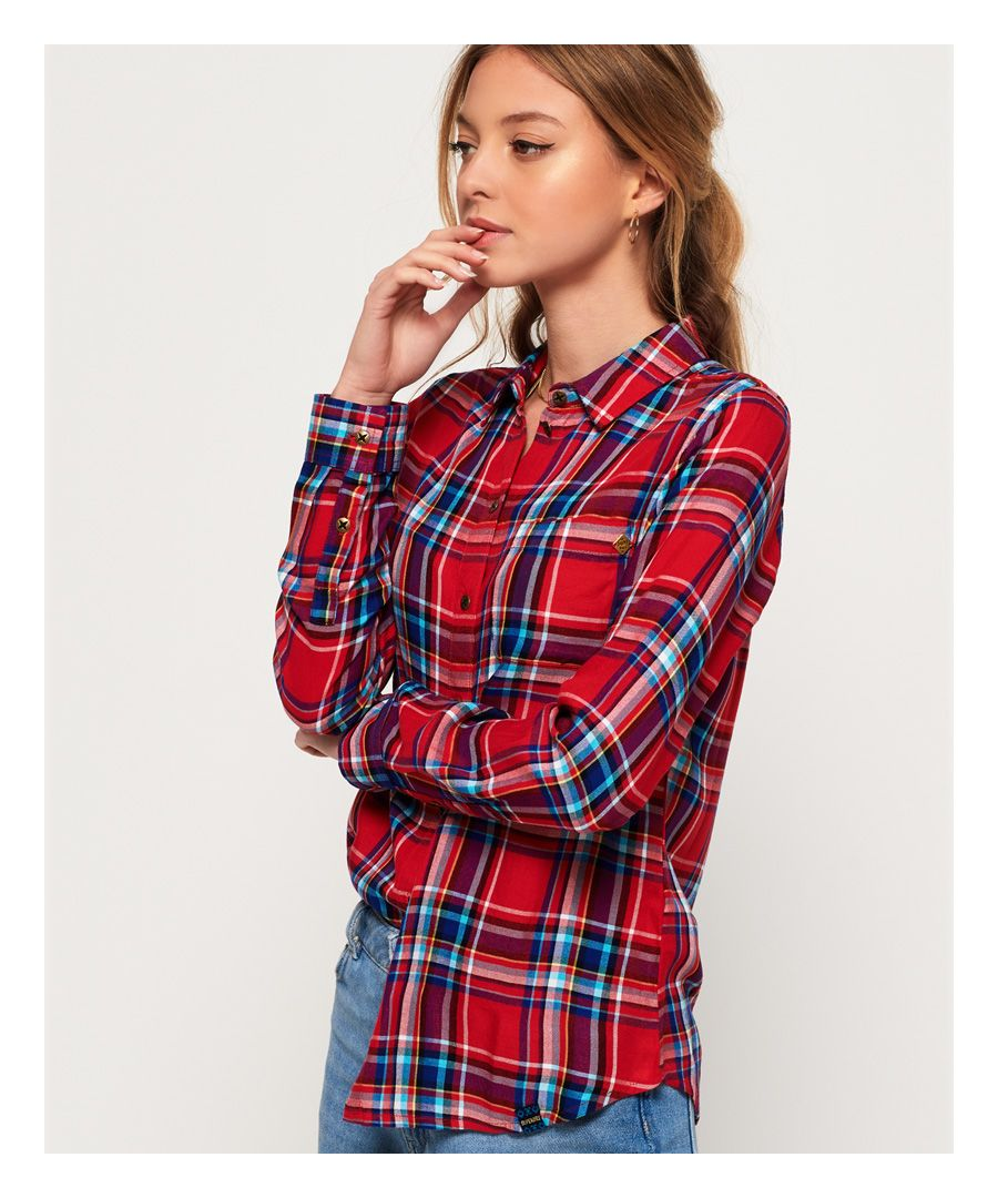 Image for Superdry Anneka Check Shirt