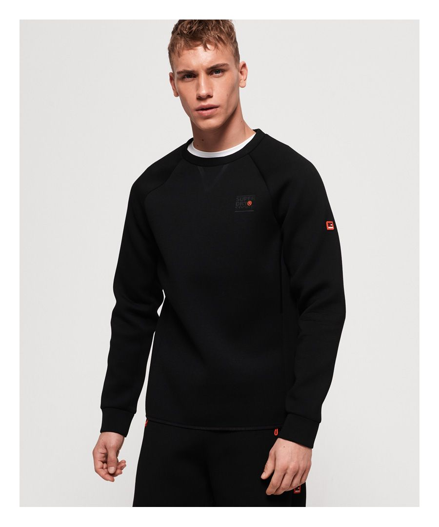 Image for Superdry Gym Tech Stretch Crew Neck Sweatshirt