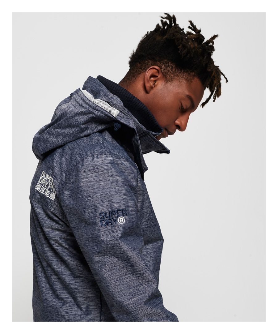 Image for Superdry Technical Hooded Pop Zip SD-Windcheater Jacket