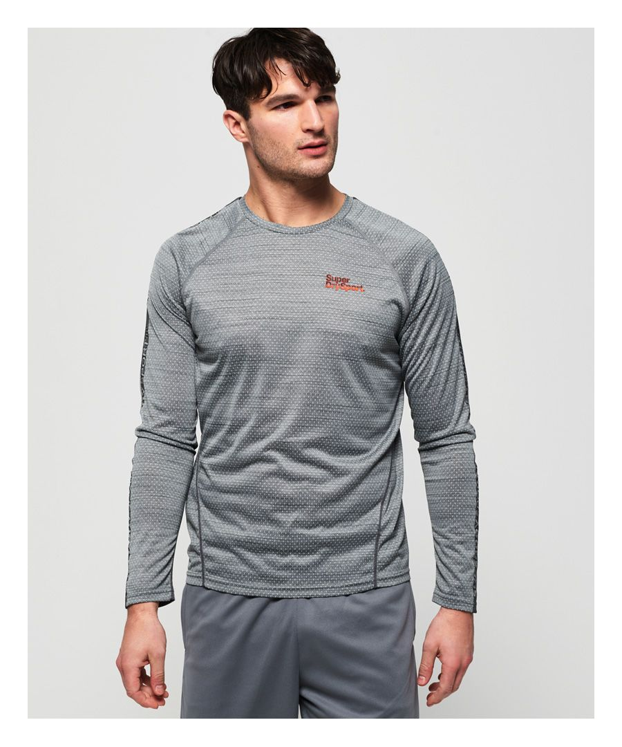 Image for Superdry Active Microvent Long Sleeve T-Shirt