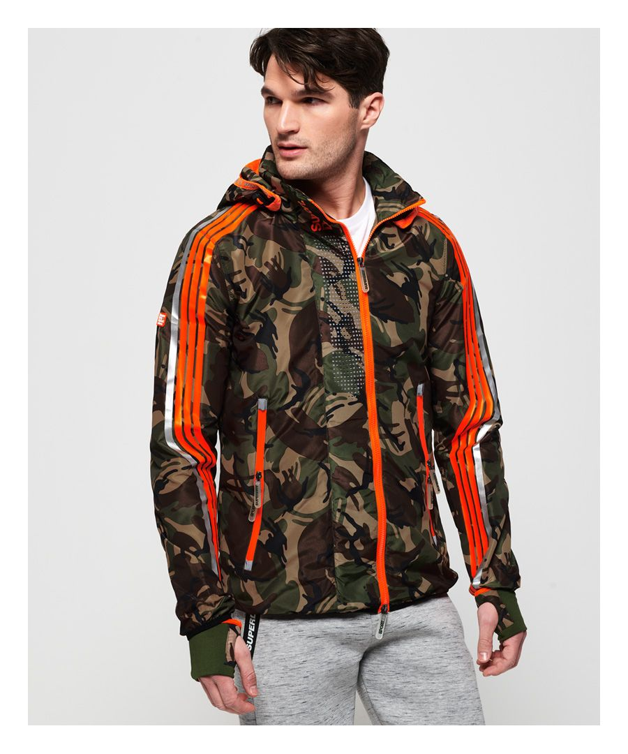Image for Superdry Sprint Attacker Camo Jacket