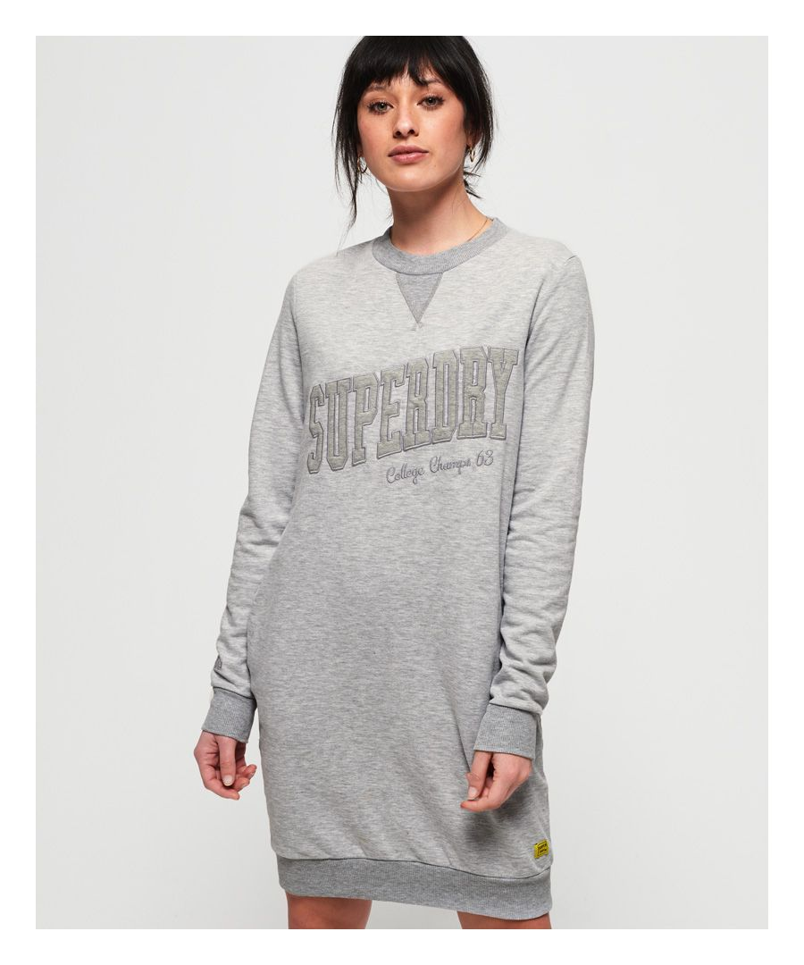 Image for Superdry Tonal Sweat Dress