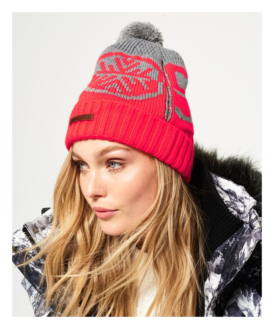 Image for Superdry Snow Logo Beanie