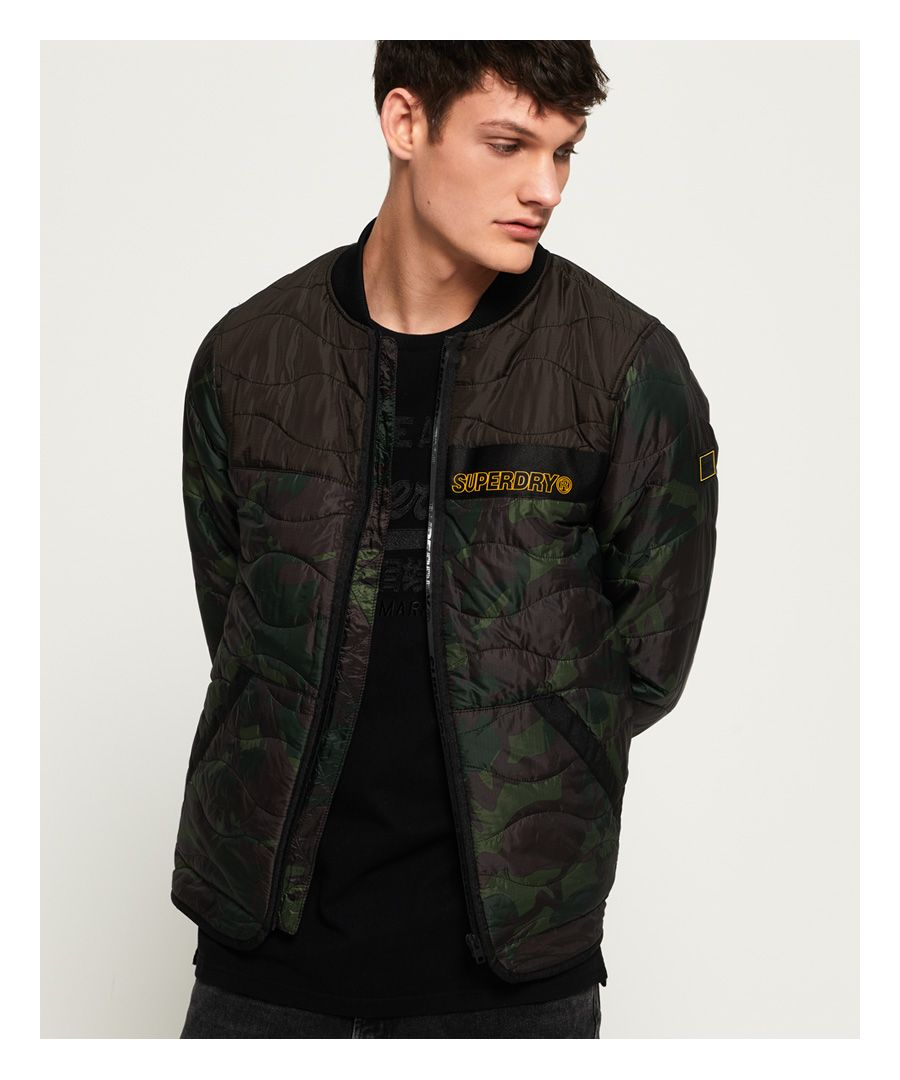 Image for Superdry Air Corps Padded Liner Jacket