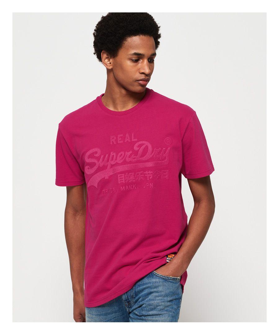 Image for Superdry Vintage Logo Box Fit Applique T-Shirt