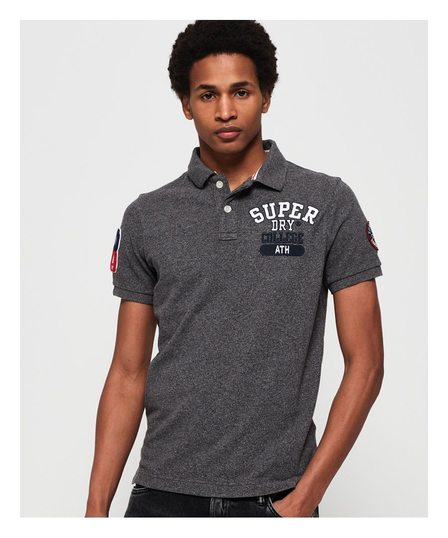 Image for Superdry Classic Superstate Pique Polo Shirt