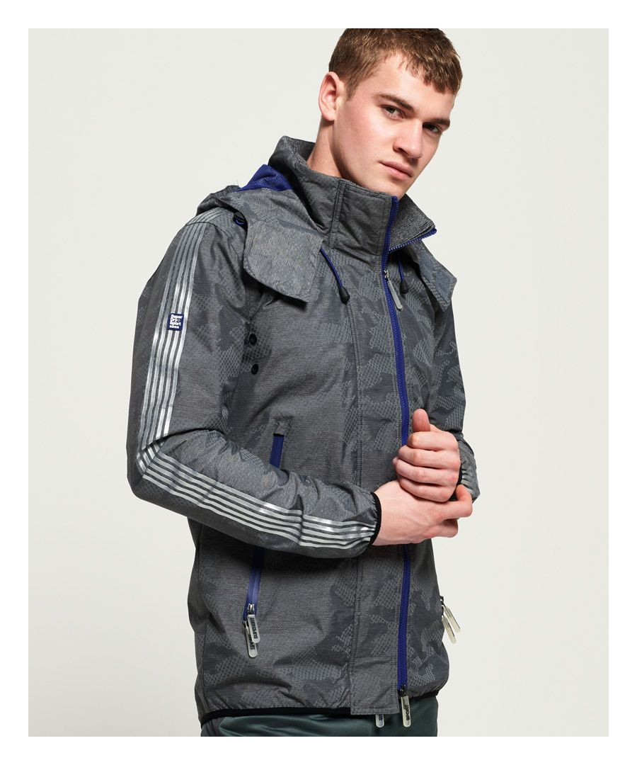Image for Superdry Technical Camo SD-Windsprinter Jacket