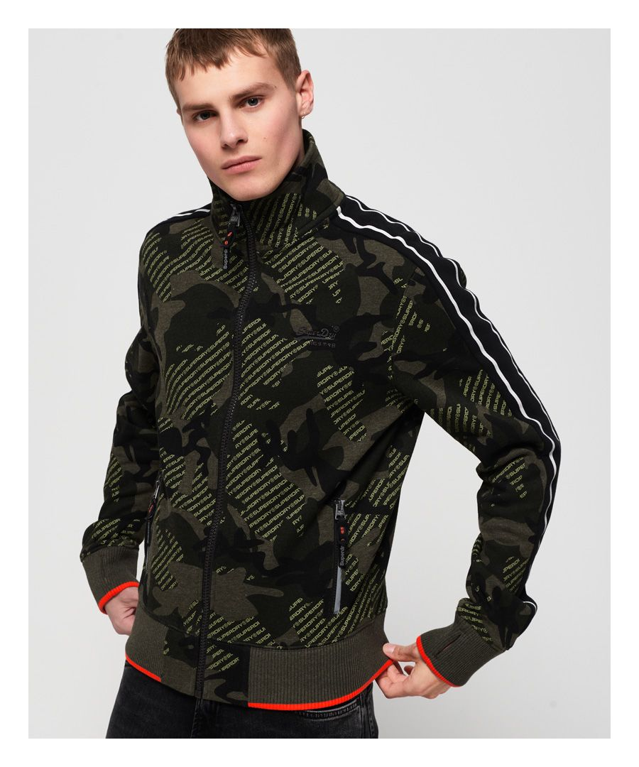 Image for Superdry Orange Label Urban Track Top