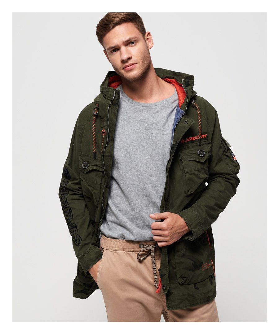 Image for Superdry Mixed Rookie Parka Jacket