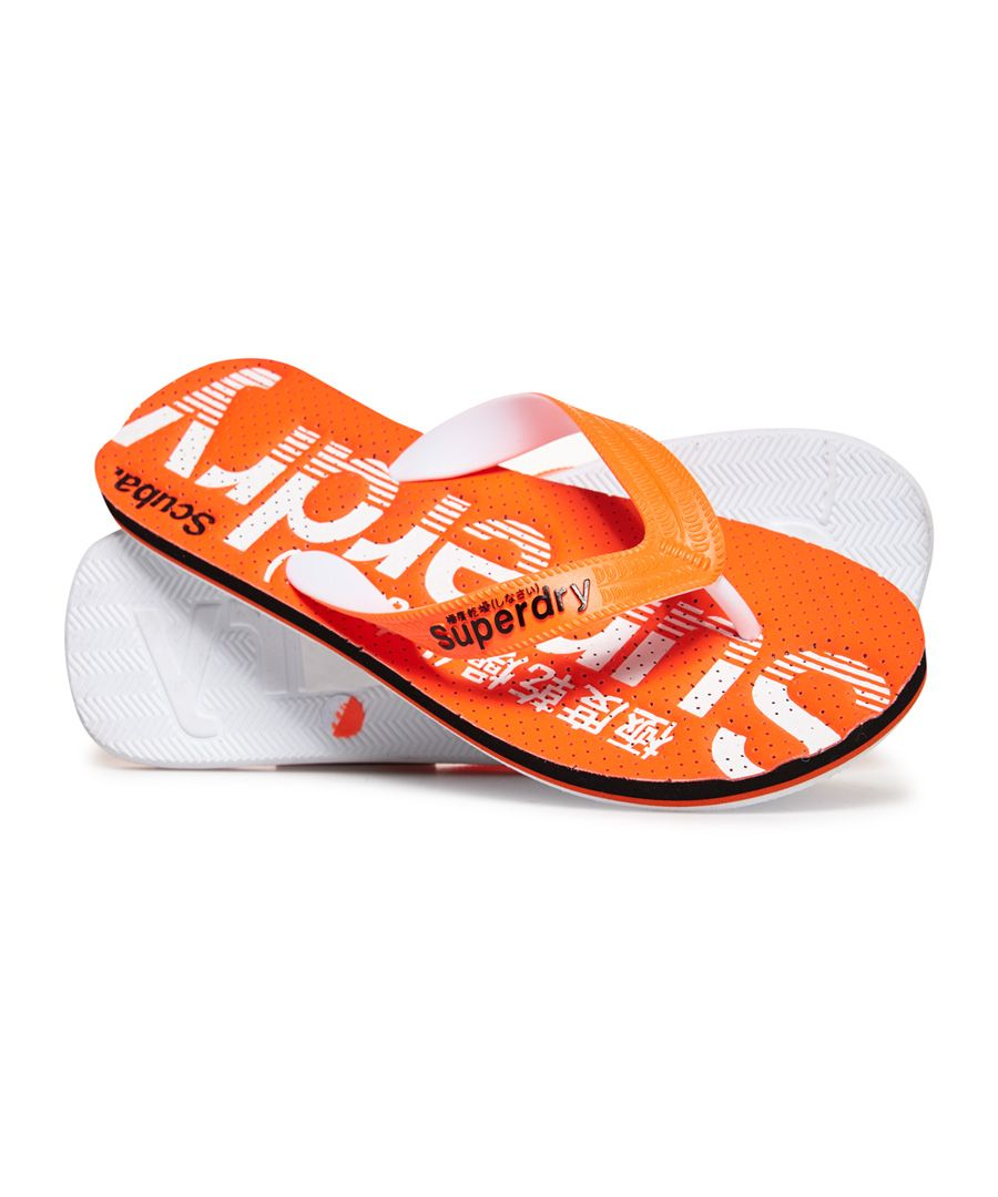 Image for Superdry Scuba Perforated Flip Flops