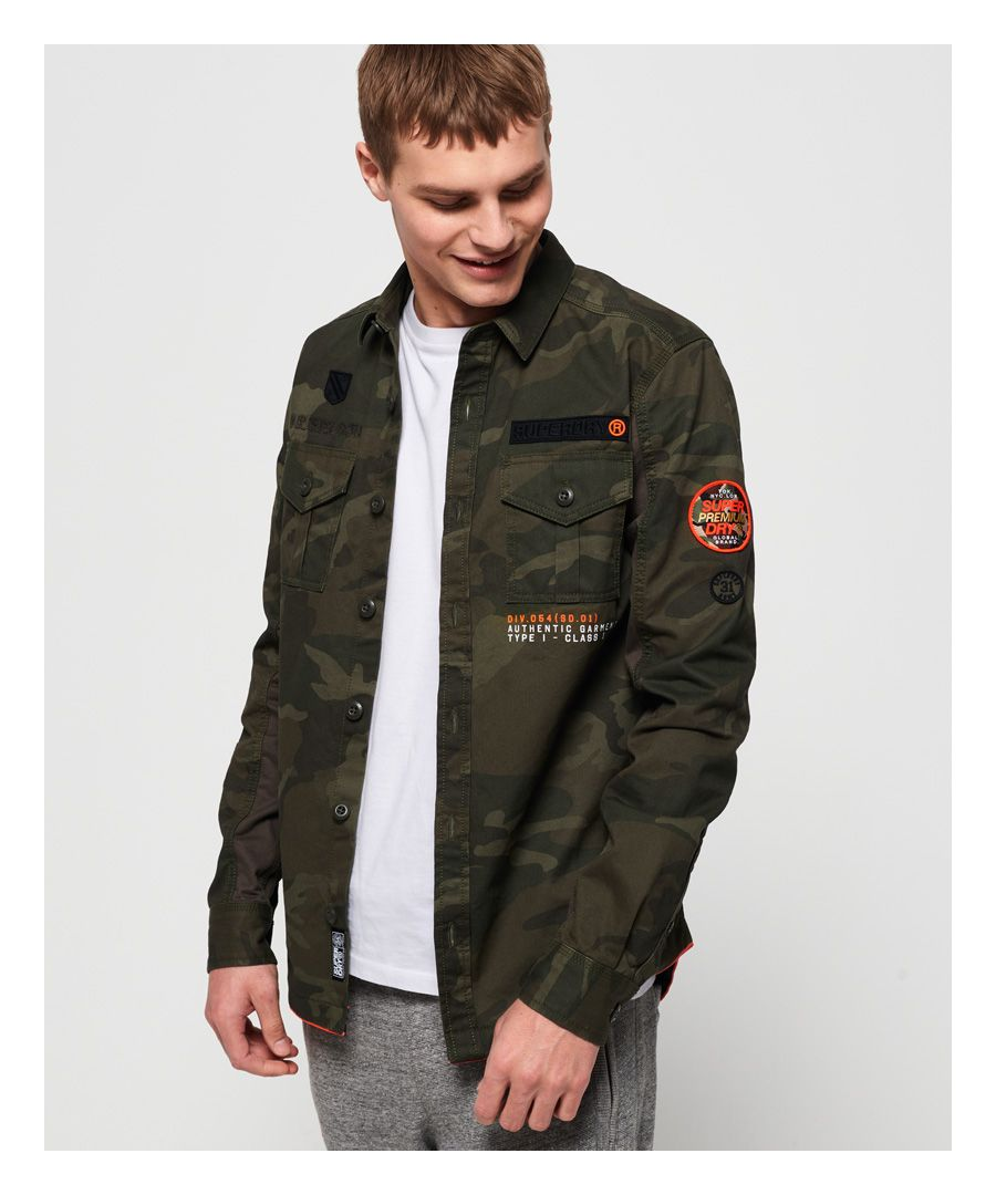 Image for Superdry Military Storm Shirt