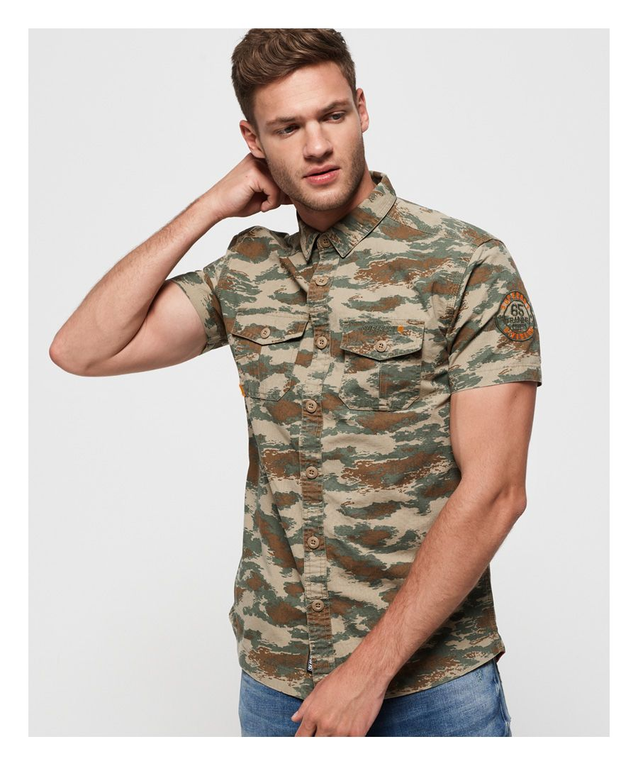 Image for Superdry Short Sleeve Rookie Parachute Lite Shirt