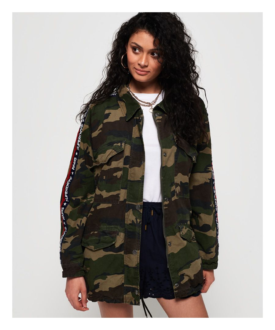 Image for Superdry Lilith Oversized Rookie Shacket