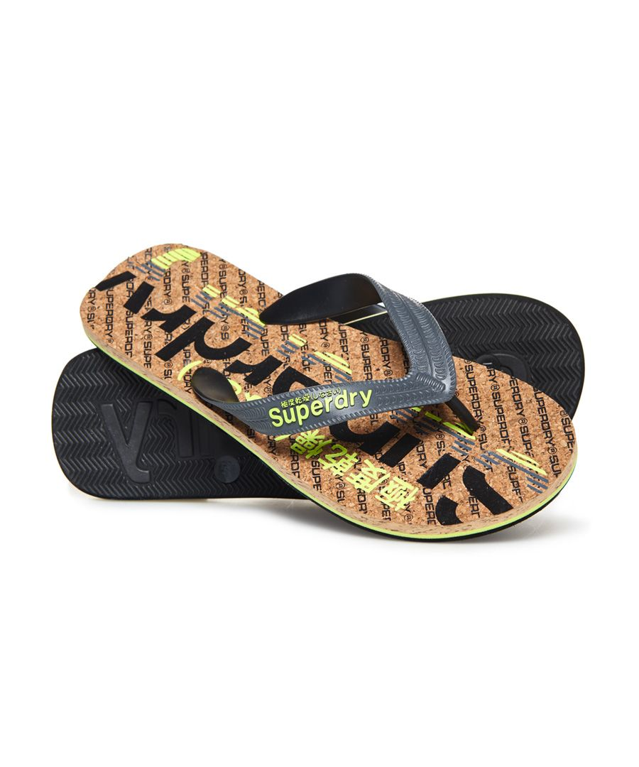 Image for Superdry Cork Colour Pop Flip Flops