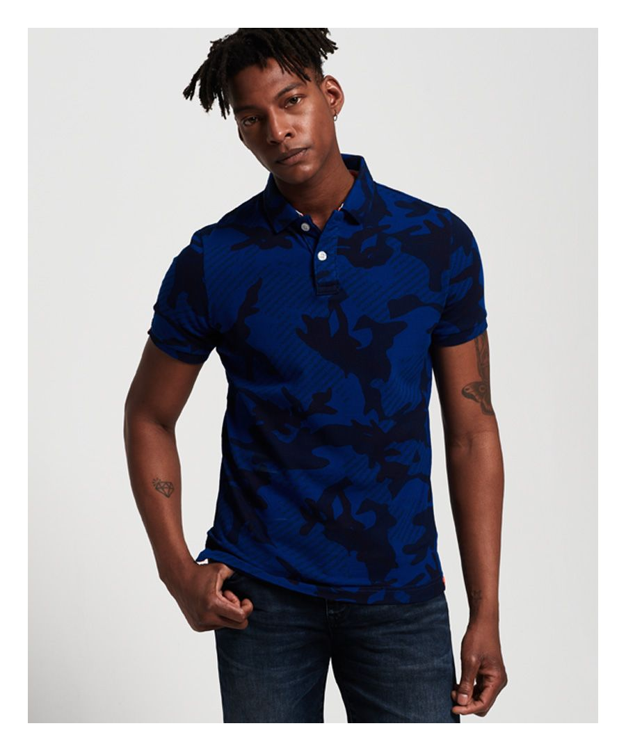 Image for Superdry Tropic Army Polo Shirt