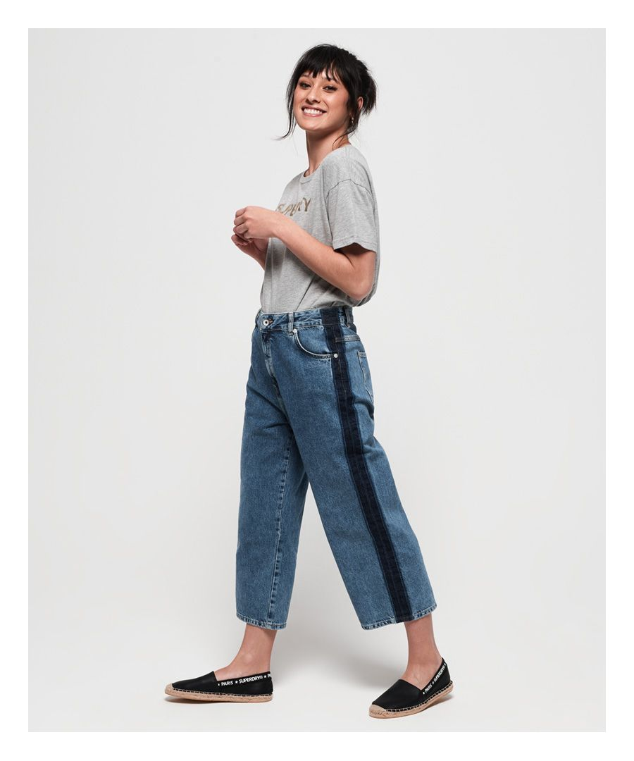 Image for Superdry Phoebe Wide Leg Jeans
