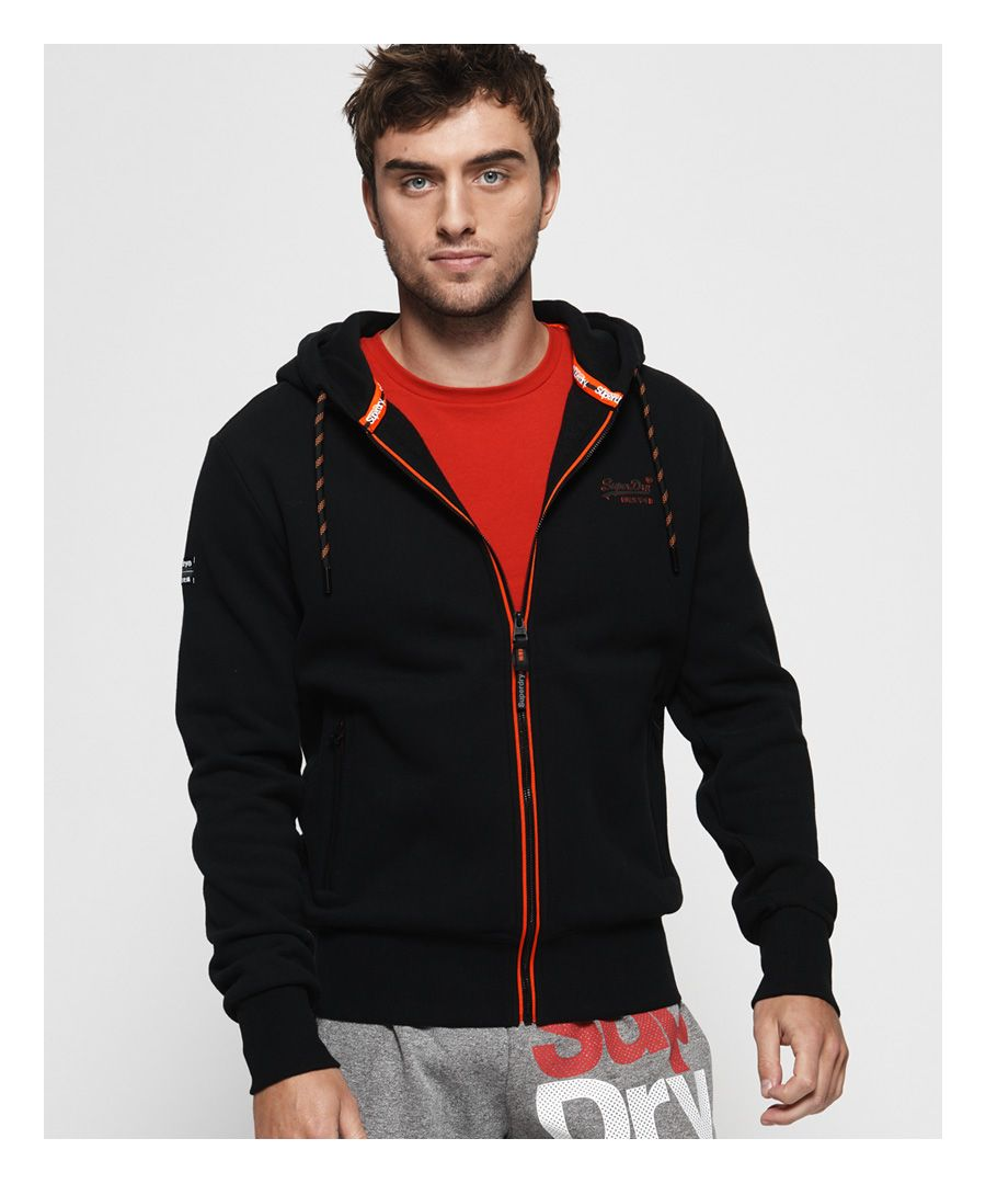 Image for Superdry Orange Label Urban Zip Hoodie
