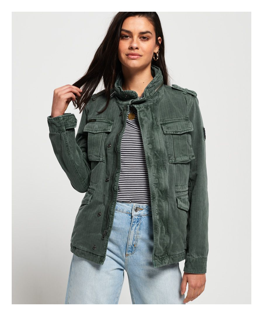 Image for Superdry Kiona Rookie Pocket Jacket