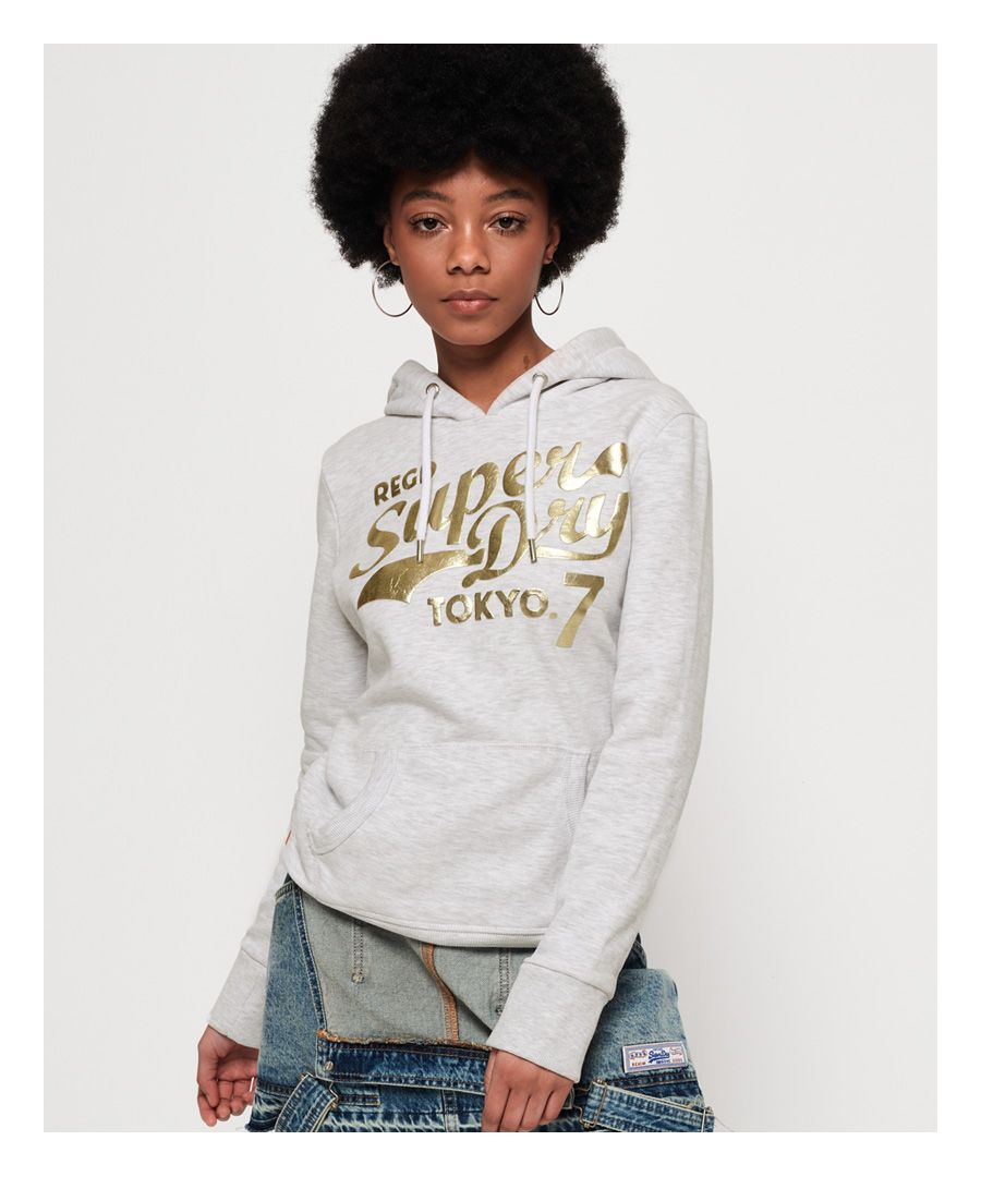 Image for Superdry Tokyo 7 Texture Foil Hoodie