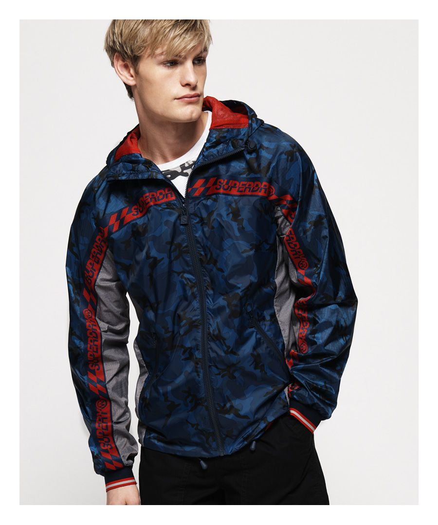 Image for Superdry Hawk Colour Block Cagoule