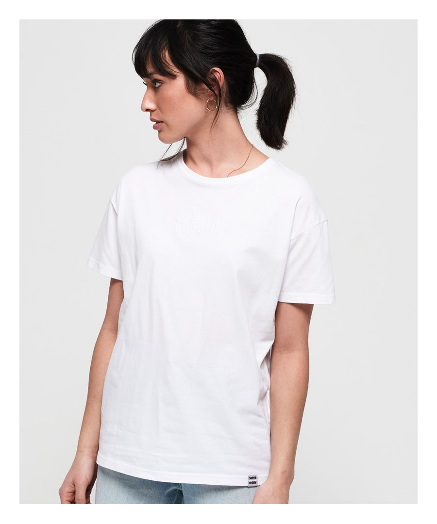 Image for Superdry Minimal Logo Tonal Oversized Portland T-Shirt