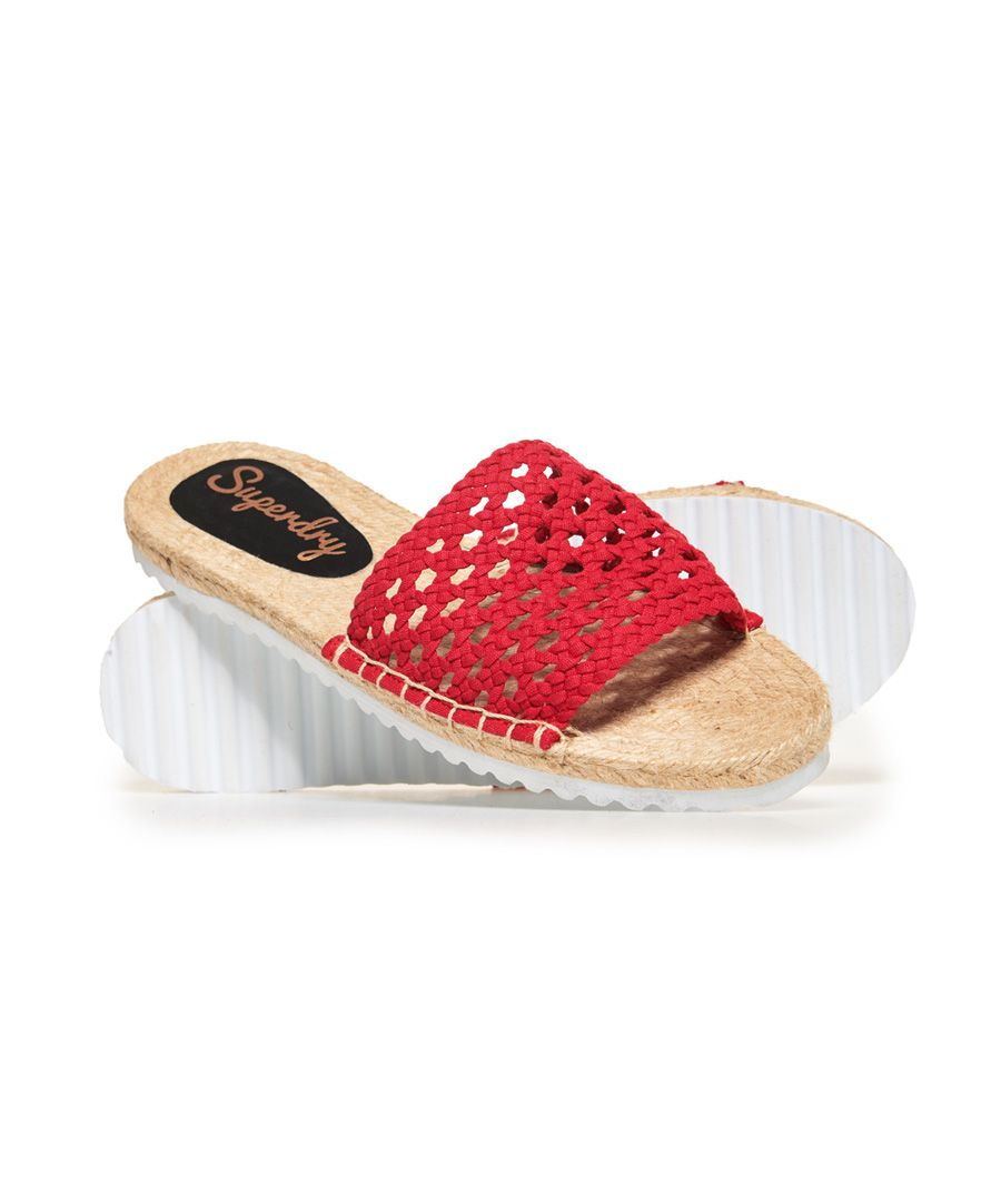 Image for Superdry Macrame Espadrille Slides