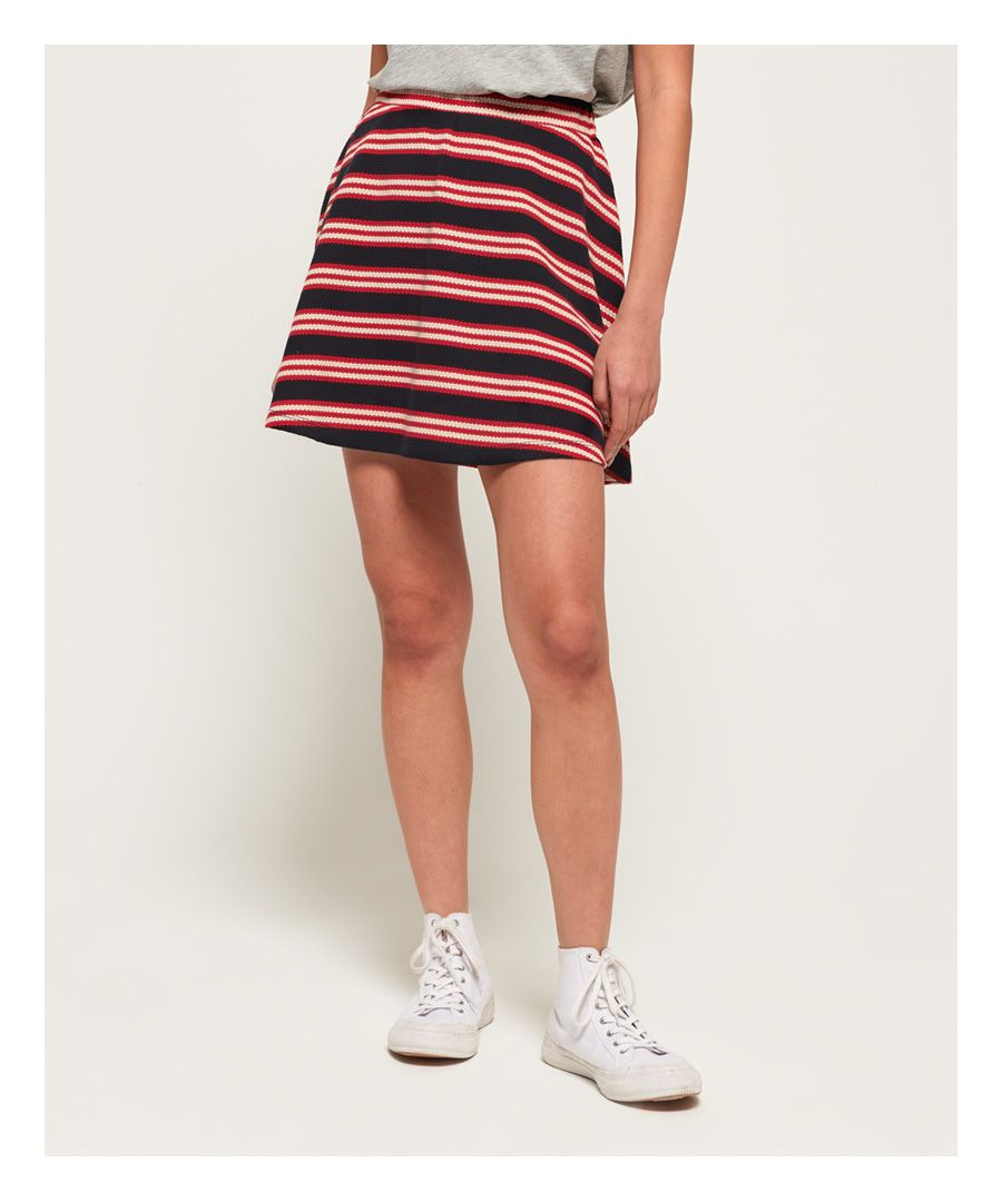 Image for Superdry Nautical Skater Skirt
