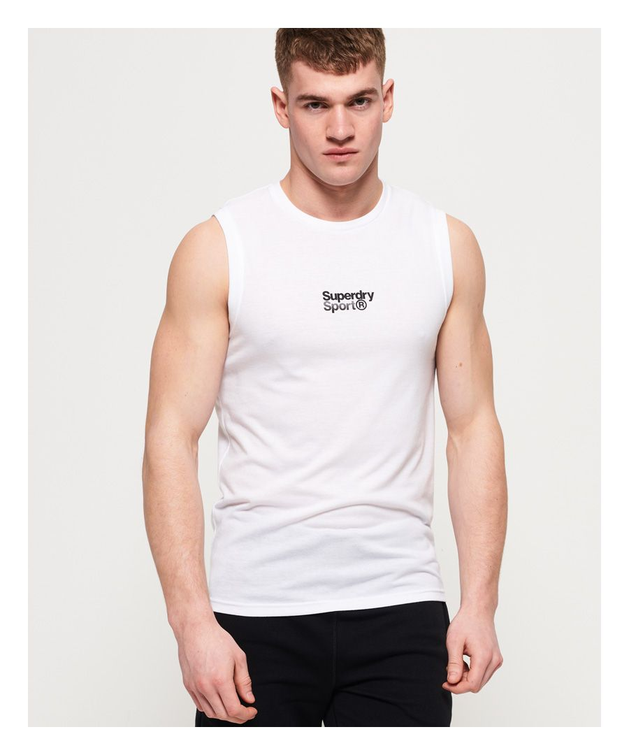 Image for Superdry Core Sport Small Logo Tank Top