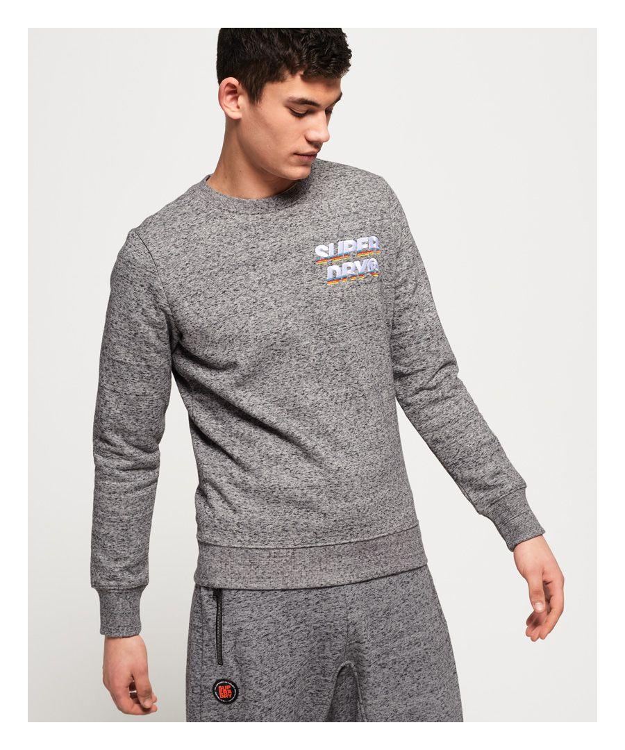 Image for Superdry Cali Applique Logo Crew Sweatshirt