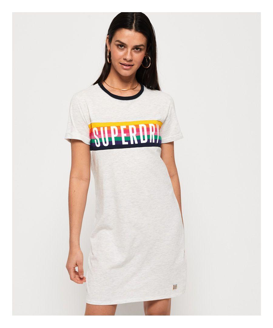 Image for Superdry Sanita Ringer T-Shirt Dress