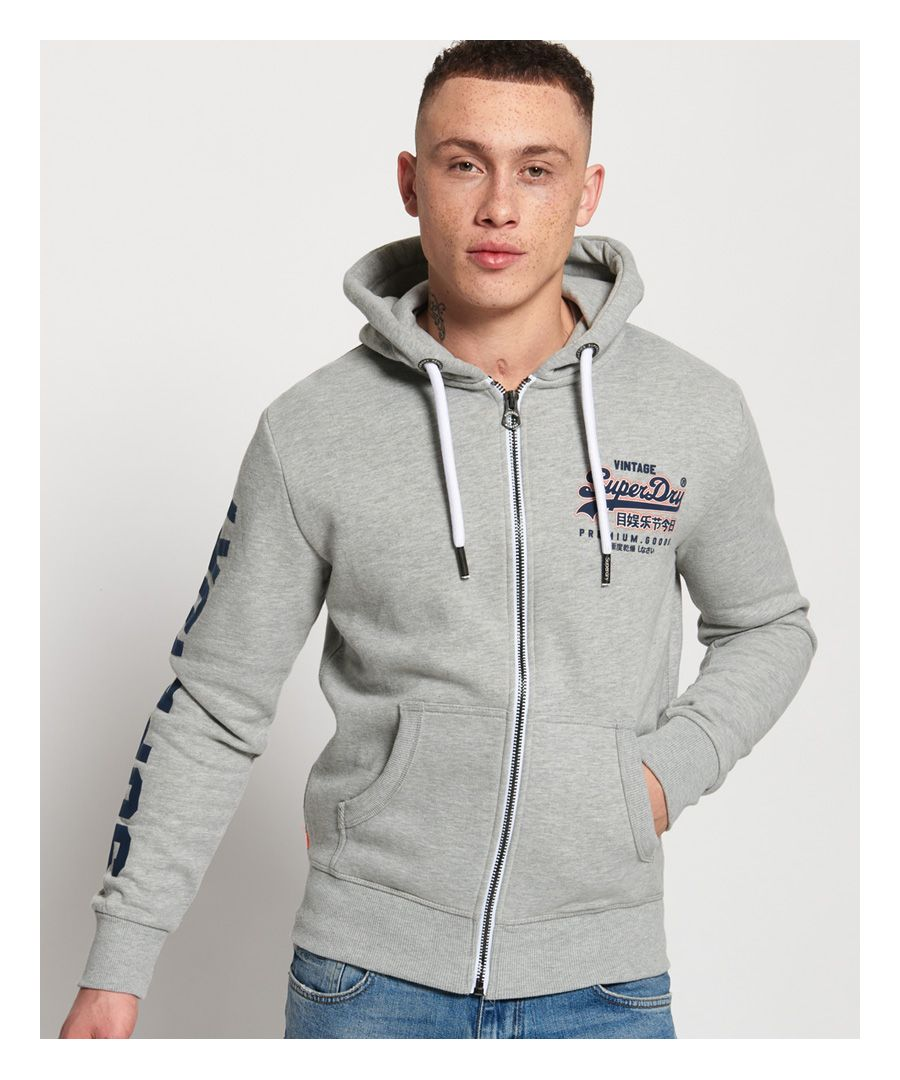 Image for Superdry Vintage Logo Zip Hoodie
