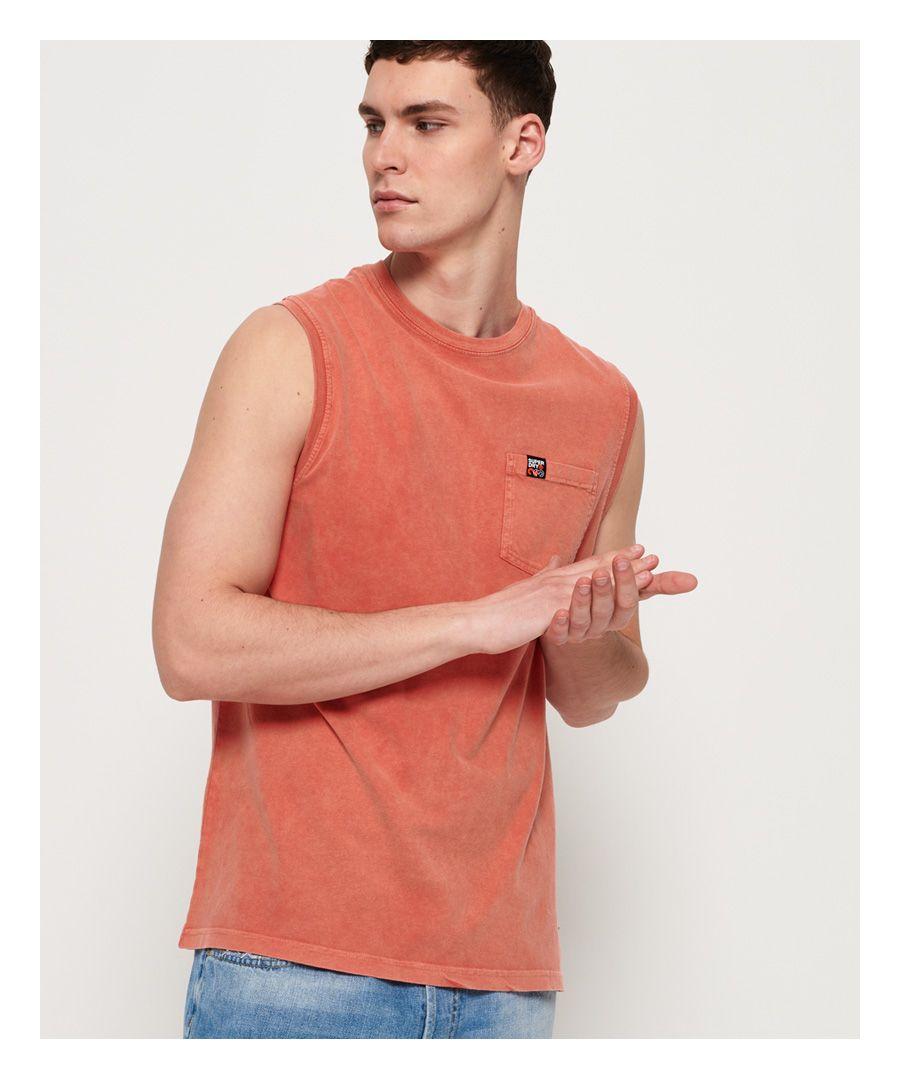 Image for Superdry Surplus Goods Pocket Oversized Vest Top