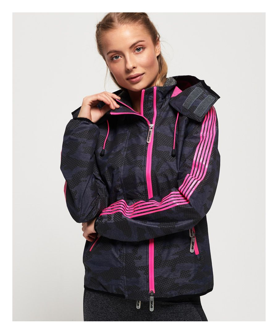 Image for Superdry Windsprinter Tech Camo Jacket