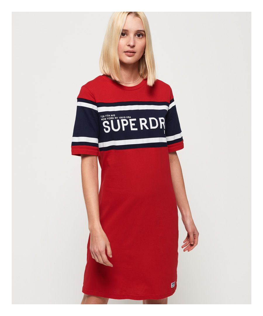 Image for Superdry Colour Block T-Shirt Dress