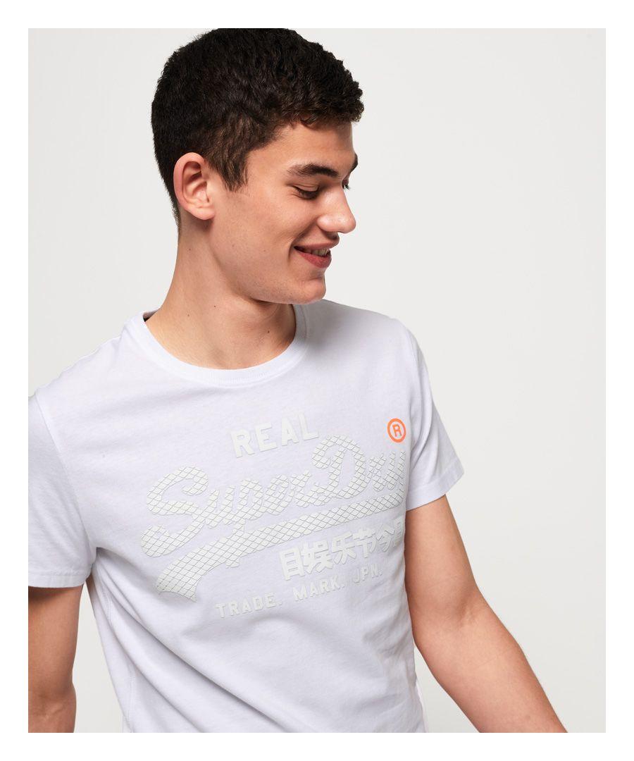 Image for Superdry Vintage Logo Monochrome T-Shirt