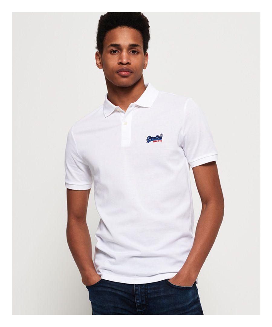 Image for Superdry Mercerised Lite City Polo Shirt