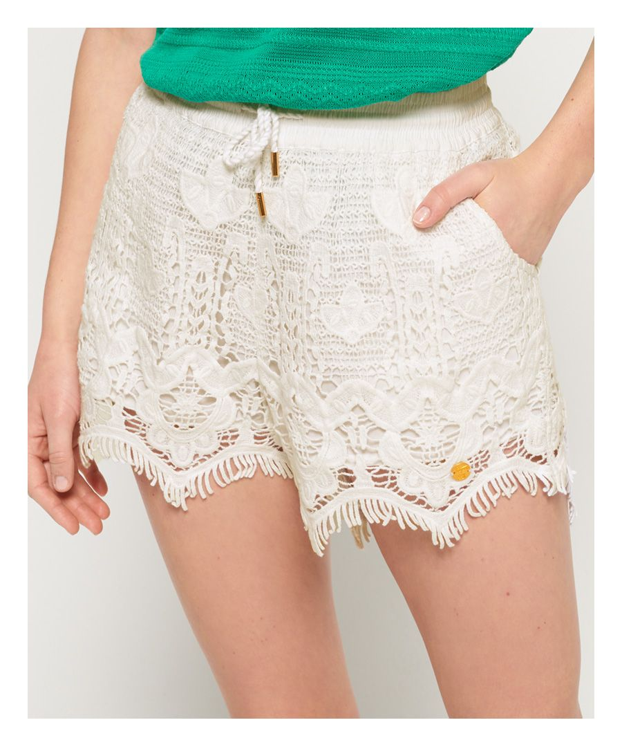 Image for Superdry Mandy Lace Shorts