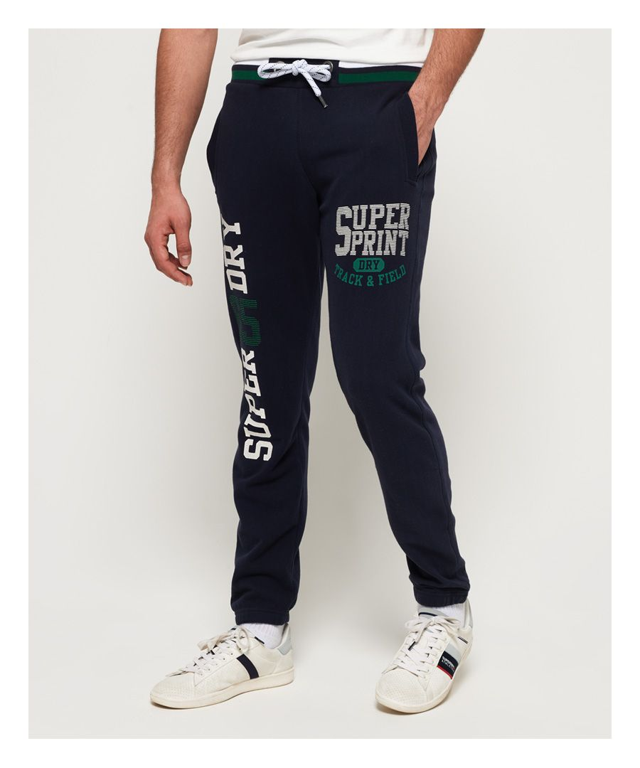 Image for Superdry Track & Field Cuffed Lite Joggers