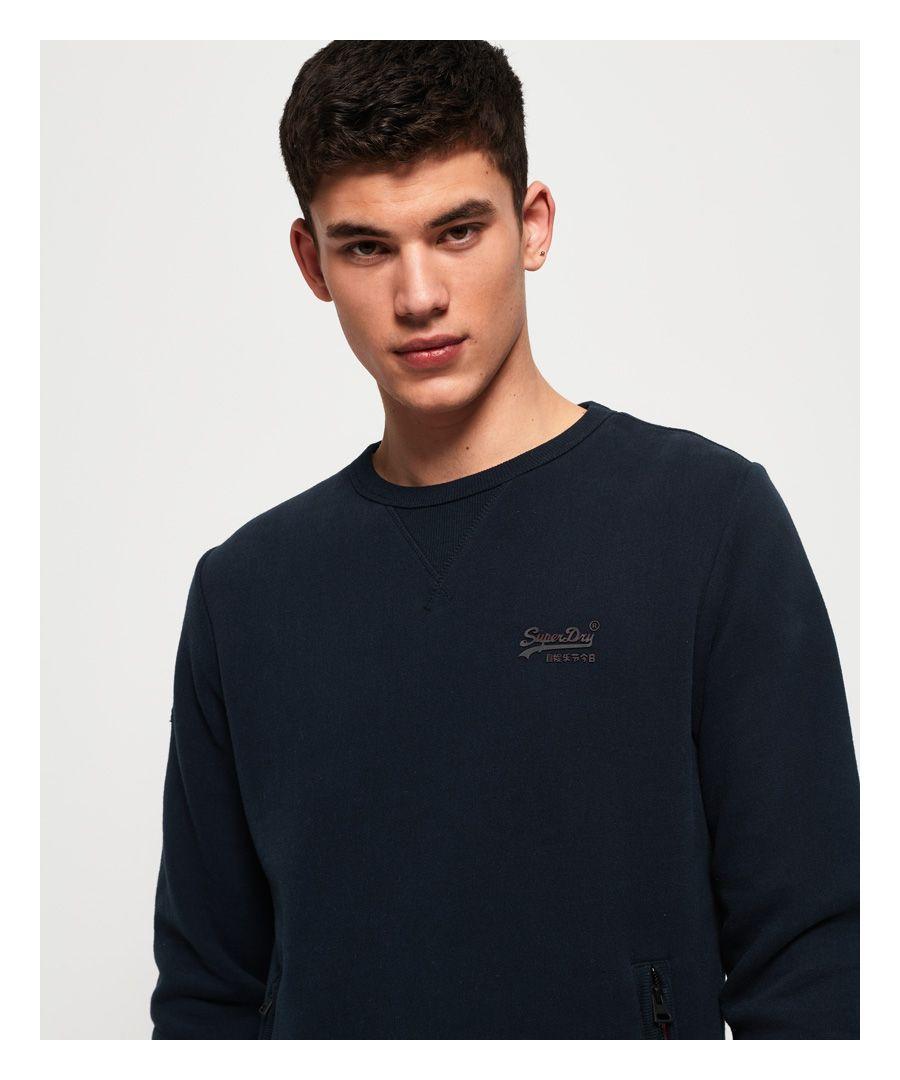 Image for Superdry Orange Label Urban Crew Sweatshirt