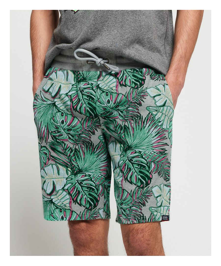 Image for Superdry Superdry All Over Print Washed Shorts