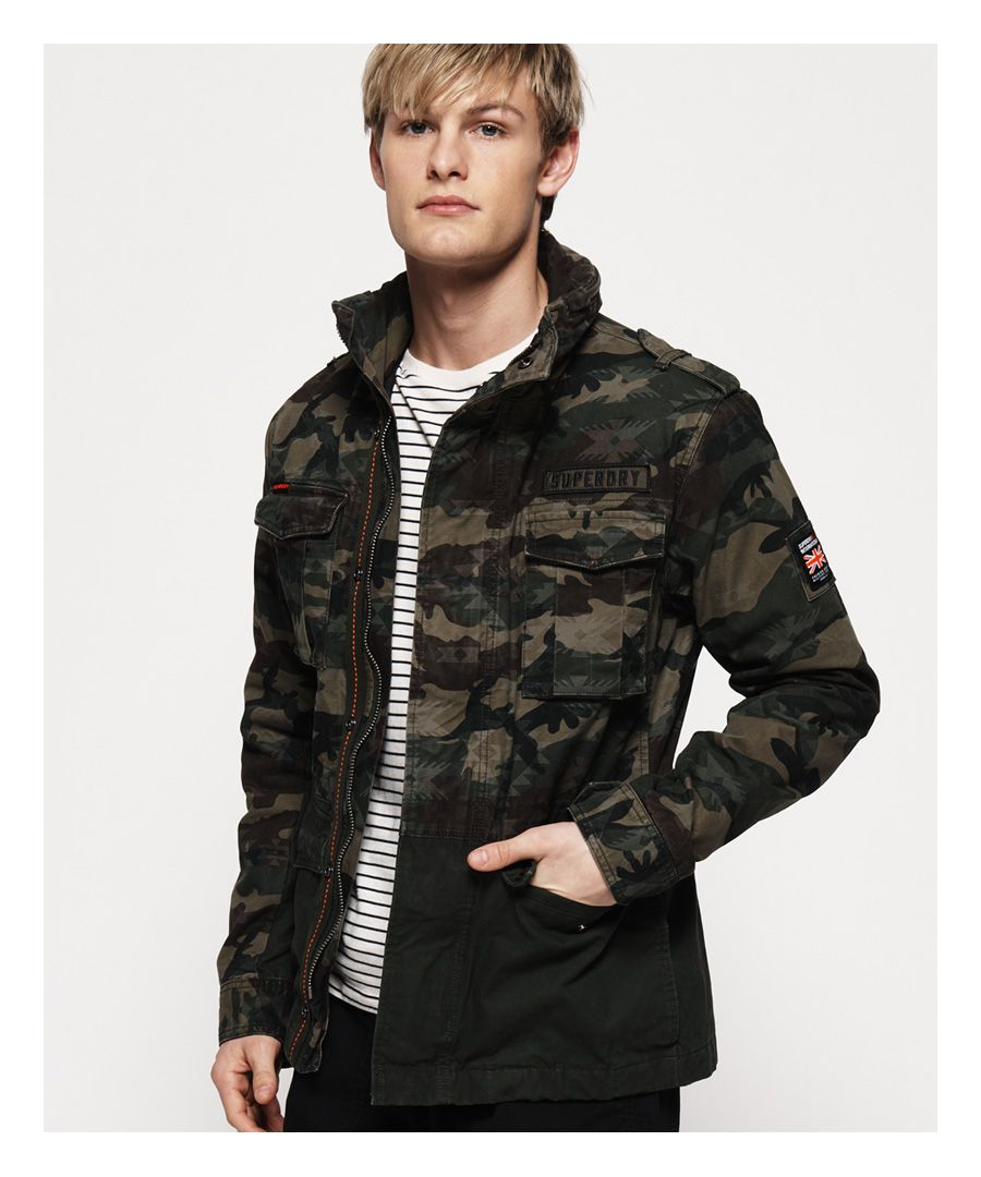Image for Superdry Mixed Rookie Pocket Jacket