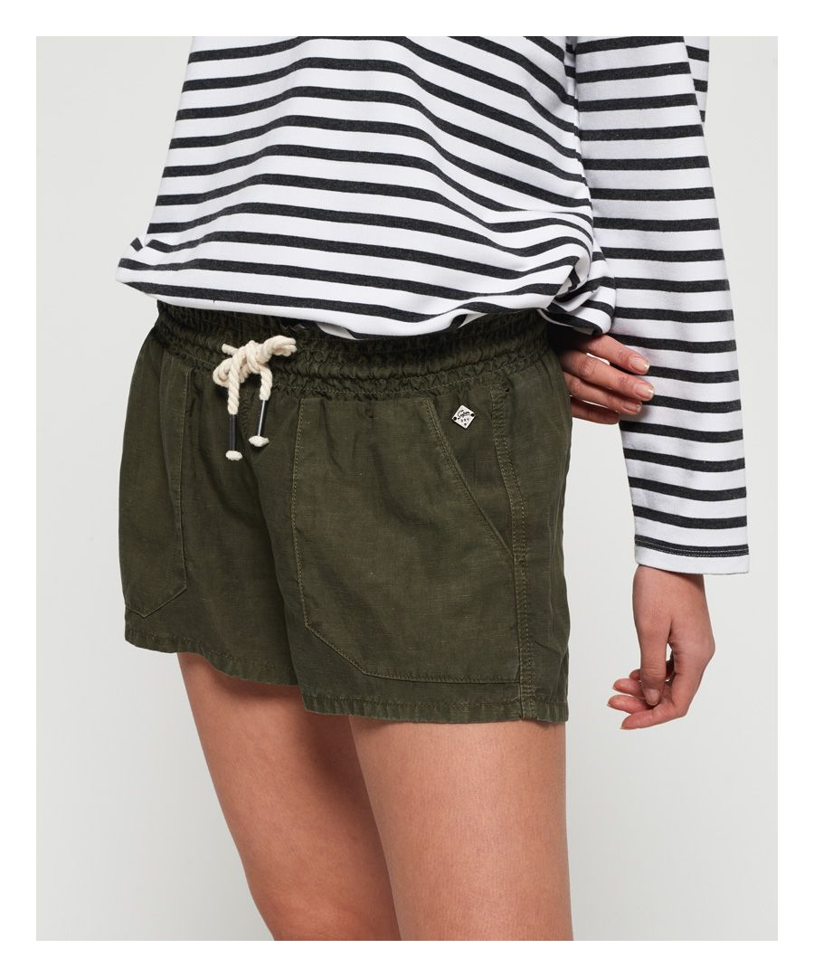 Image for Superdry Linen Utility Shorts