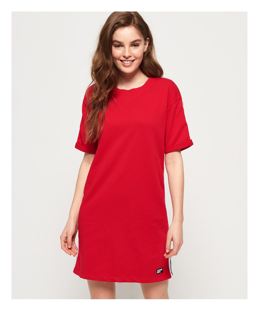Image for Superdry Georgia Short Sleeve Sweat Dress