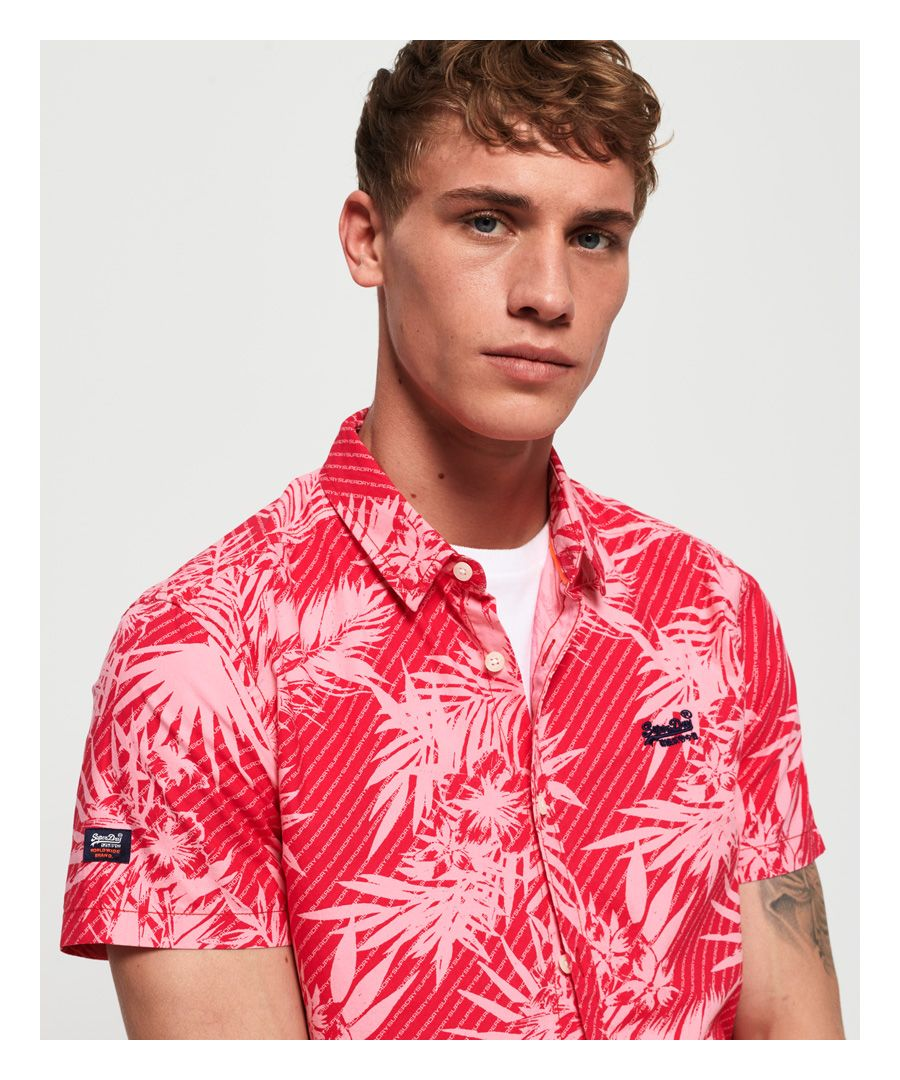Image for Superdry Short Sleeve International Vacation Shirt